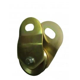 Scissor type snatch pulley